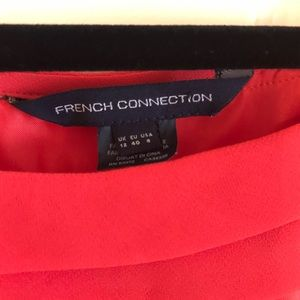 French Connection Dresses - French connection layered shift dress
